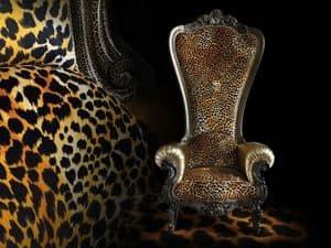 Bild von B/110/16 The Throne, sessel mit klassischen linien