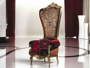 Bild von B/110/2 The Throne, dekorierte holz sessel