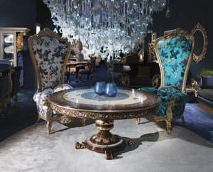 Bild von B/110/23 B/110/24 The Throne, edel-dekorierte-sessel