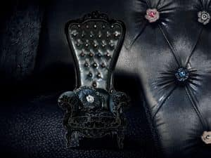Bild von B/110/3 The Throne, polster sessel