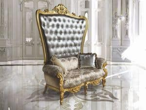 Bild von B/120/3 The Throne, dekorierter sessel