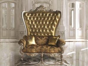 B/120/4 The Throne, Großer klassischer Sessel für luxuriöse Lobby und Restaurants