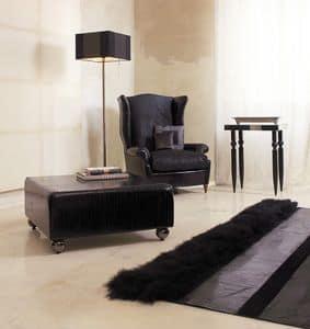 Bergere, Luxuriöse Sessel, von Hand gearbeitet, für Hotelsuiten