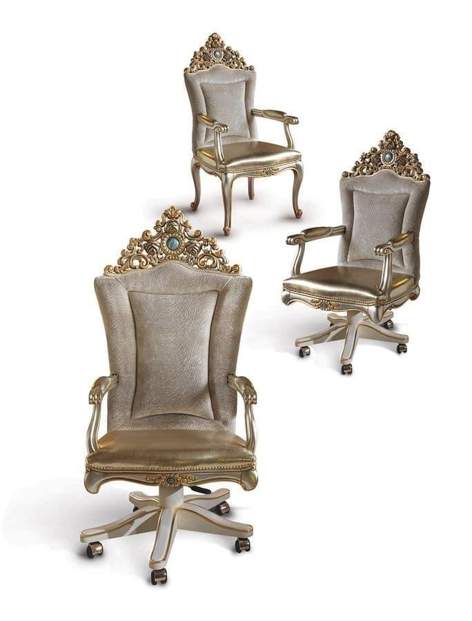 drehsessel f r klassiker b ros geeignet idfdesign. Black Bedroom Furniture Sets. Home Design Ideas