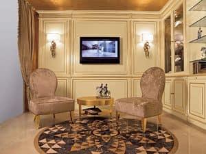 Bild von Boiserie System Armchair, geeignet f�r zimmer