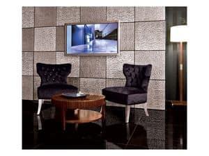 Bild von Chic Cubica Armchair, sessel mit luxuri�sen dekor