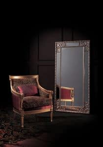Conversation 92, Sessel mit gepolstertem Sitz und Rücken, klassischen Stil