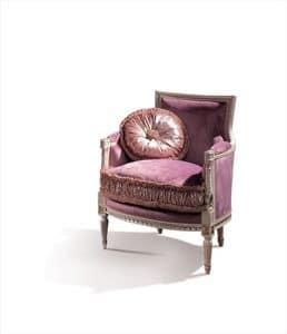 Conversation 99, Klassischer Sessel mit gepolstertem Sitz und Rücken