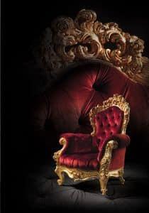 F970, Sessel Stepp für Luxus-Wohnzimmer