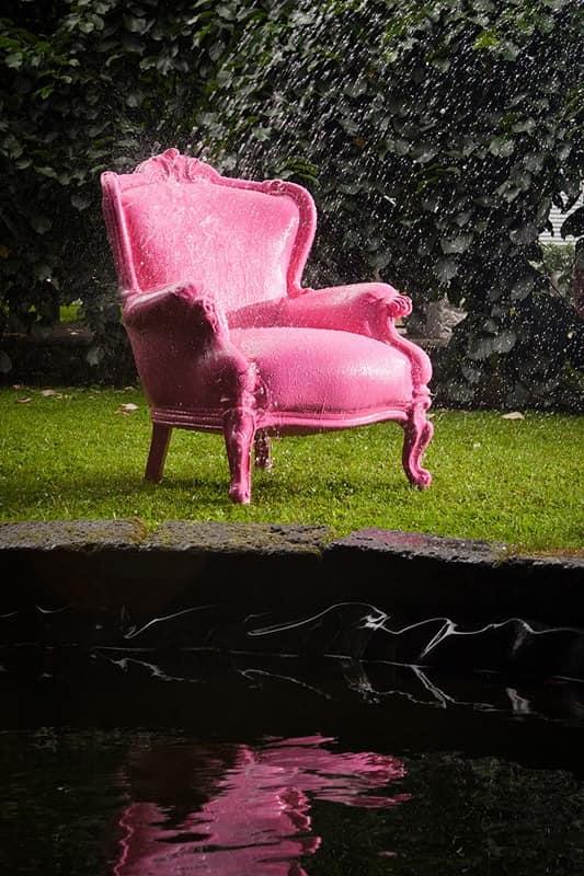 Wasserdicht Sessel Barock Stil Für Den Außenbereich Idfdesign