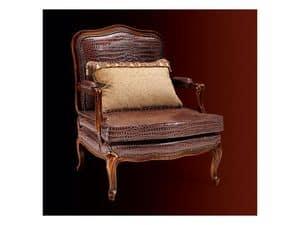 Gardenia armchair 806, Sessel mit Lederbezug