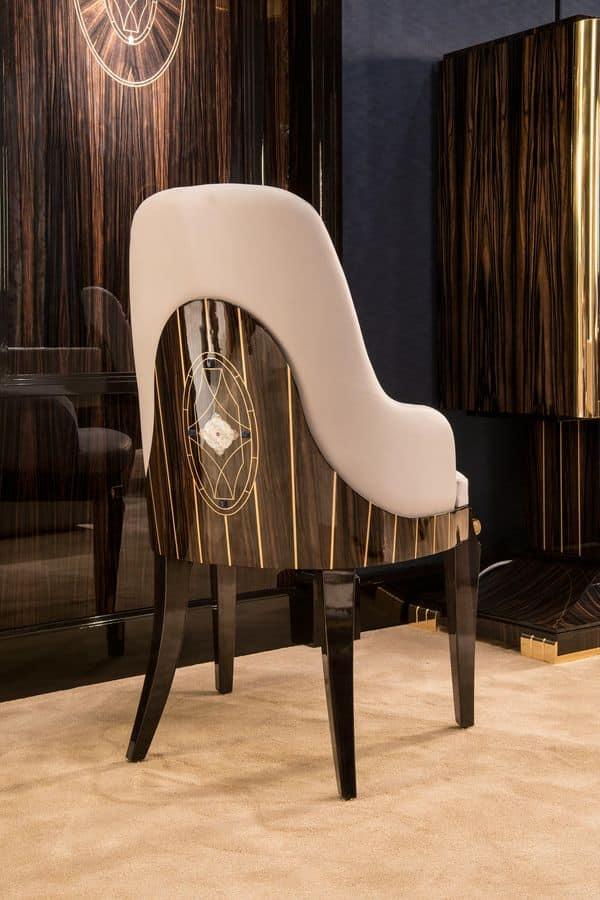 furniert stuhl in nat rlichen essenzen aus eben massakar. Black Bedroom Furniture Sets. Home Design Ideas