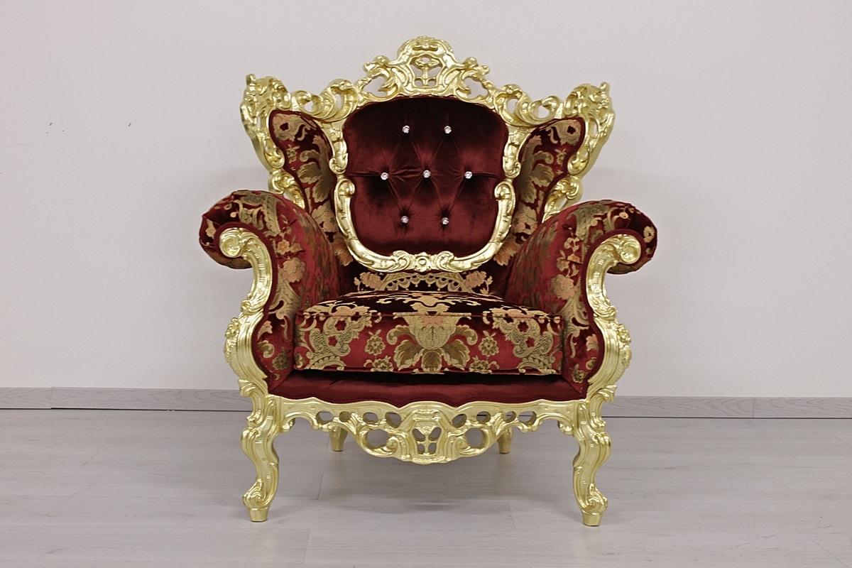 Maria Sessel, Klassischer Sessel mit Medaillonrücken