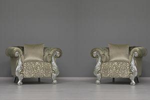Oceano beige, Sessel ideal für Luxushotels und Villen