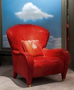PO56, Klassischer Sessel für Wohnbereiche geeignet