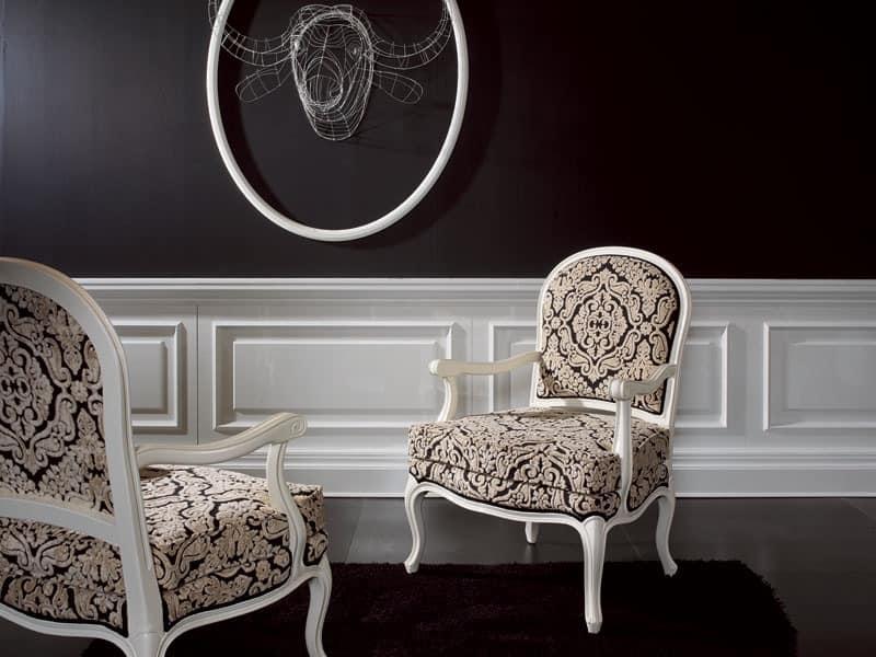 sessel mit eleganten abgang f r luxus hotels idfdesign. Black Bedroom Furniture Sets. Home Design Ideas