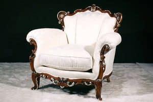 Bild von Praga Armchair, elegante-polstersessel