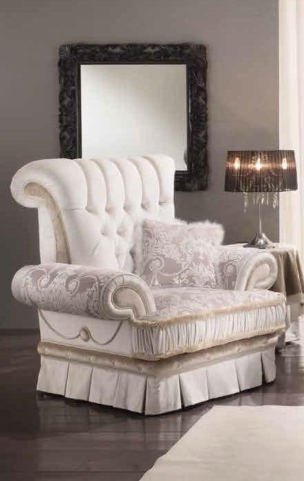 QUEEN Sessel, Klassischer Luxus-Sessel