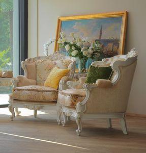 Serena Sessel, Luxuriöser handgefertigter Sessel
