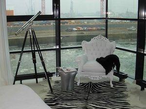 Stradivari Ledersessel, Luxuriöser Sessel, mit Leder bezogen