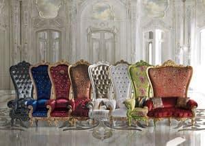 The Throne, Thron im klassischen Luxus-Stil