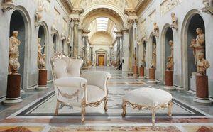 VINTAGE Sessel, Sessel mit handgefertigten Dekorationen, anpassbar