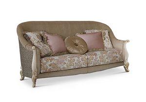 1764/L3, Klassisches Sofa mit drei Sitzplätzen
