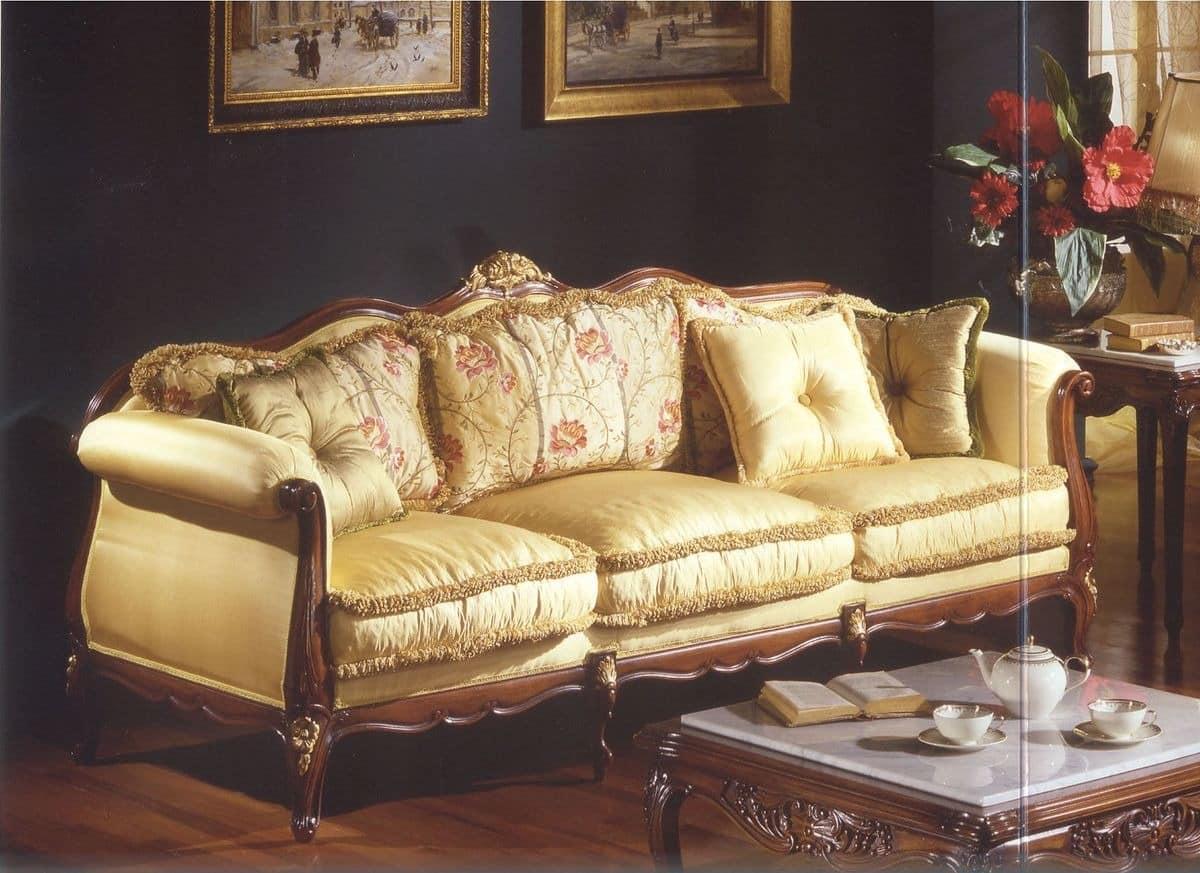 drei sitzer sofa f r luxus im klassischen stil wohnzimmer. Black Bedroom Furniture Sets. Home Design Ideas