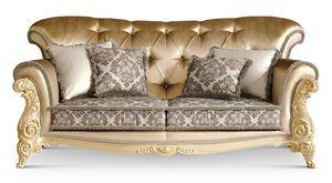 4049/L3, Elegantes klassisches Sofa für Wohnzimmer