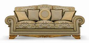 4642/L3, Drei-Sitzer-Sofa für klassische Wohnzimmer