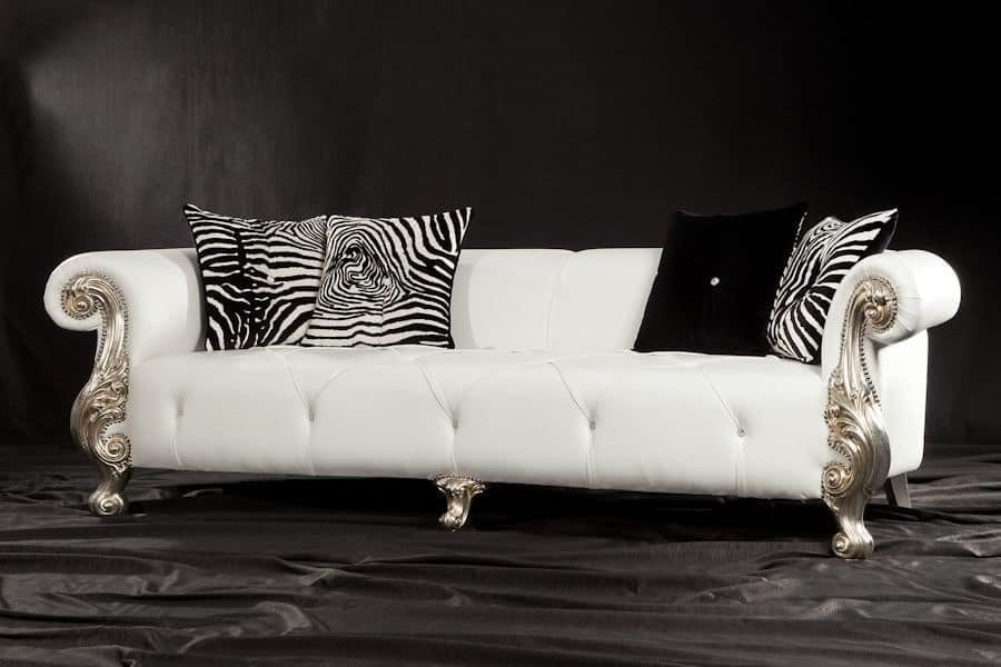 barock sofa f r wohnzimmer elegantes sofa f r die. Black Bedroom Furniture Sets. Home Design Ideas