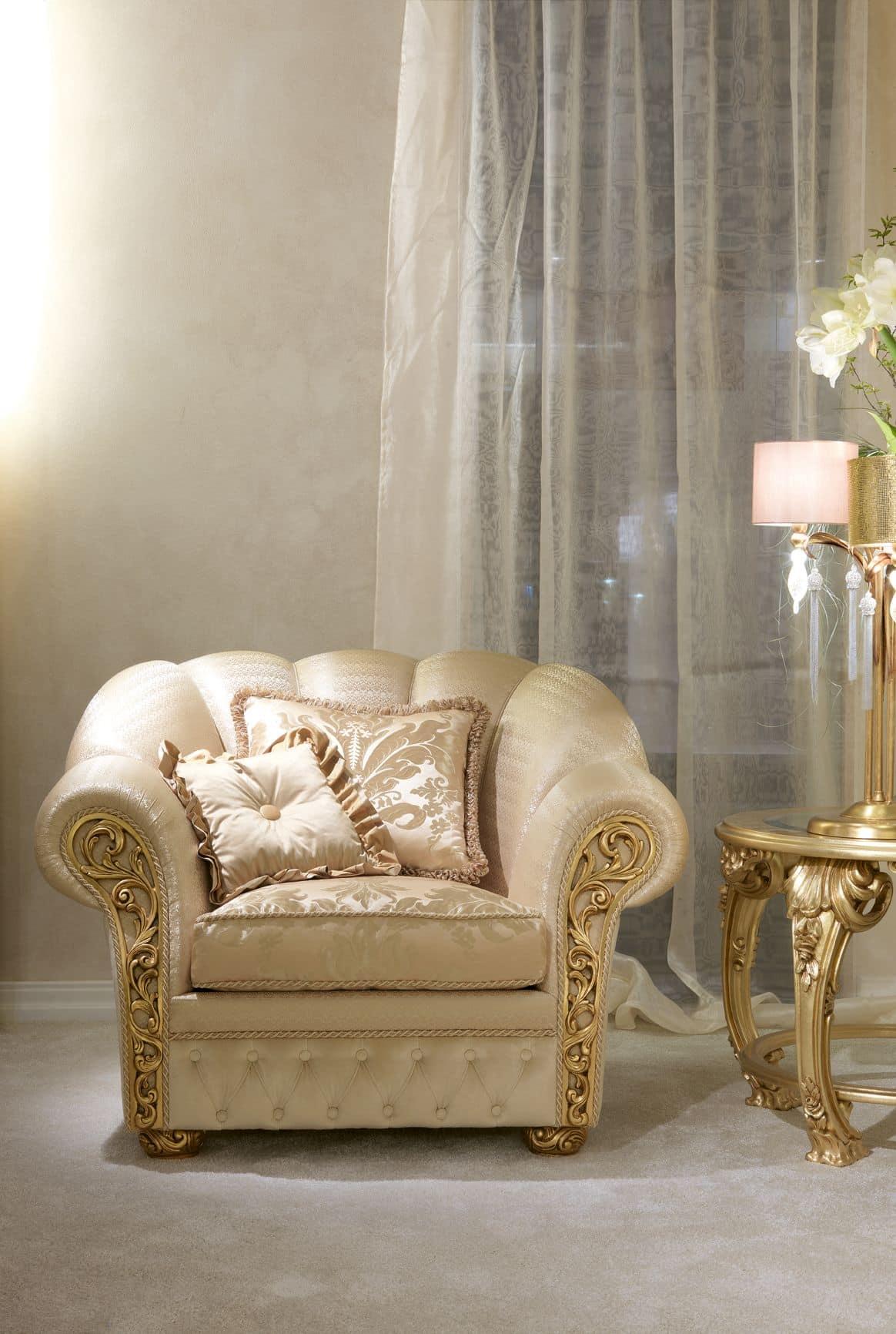 Althea Ring, 2 -Sitzer-Sofa für klassische Wohnräume geeignet