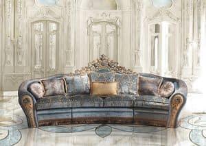 Bijoux A/2763/3, Sofa in der klassischen Luxus-Stil
