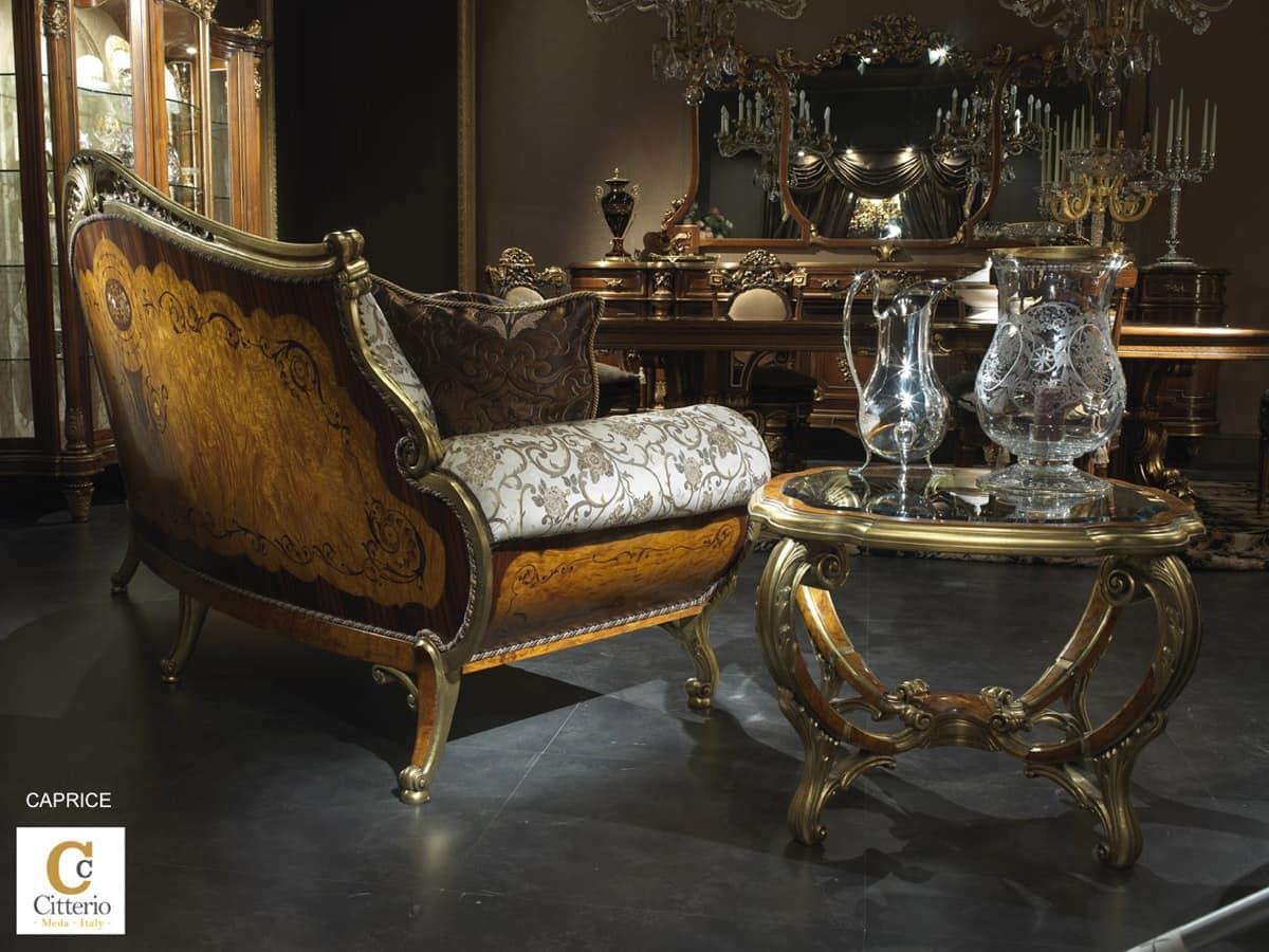 luxus klassischen wohnzimmer m bel intarsien sofa idfdesign. Black Bedroom Furniture Sets. Home Design Ideas