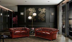 CHESTER, Sofa im klassischen englischen Stil