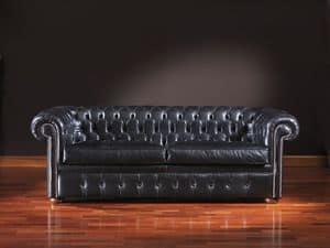Chesterfield, Zeitlose Ledersofa für Büro- und Wohnbereichen geeignet