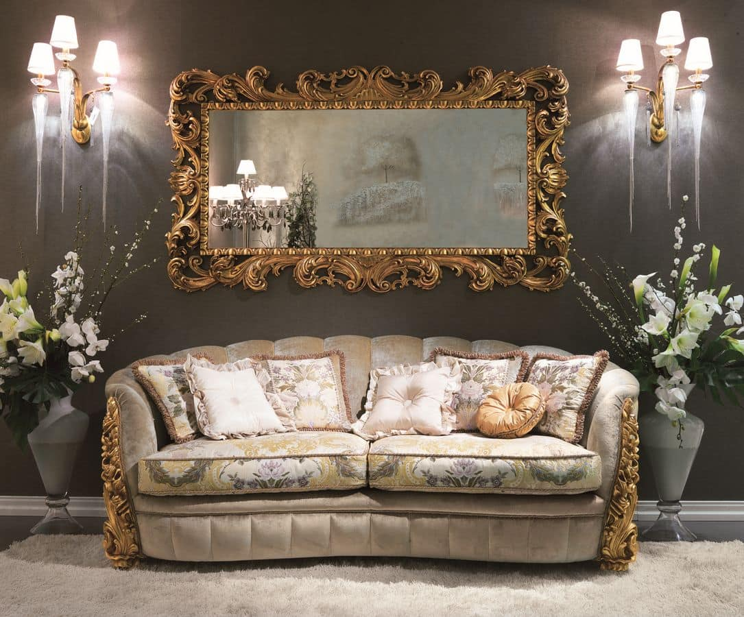 3 sitzer sofa f r klassiker umgebungen geeignet idfdesign. Black Bedroom Furniture Sets. Home Design Ideas