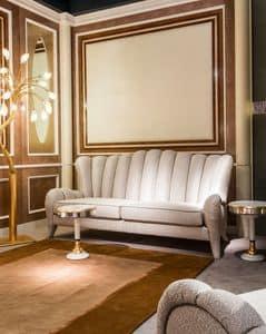 DI29 Metamorfosi, Classic 3-Sitzer-Sofa, Rückenlehne mit vertikalen Thema