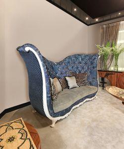 Sofa 5795, Klassisches Sofa mit hohem Rücken