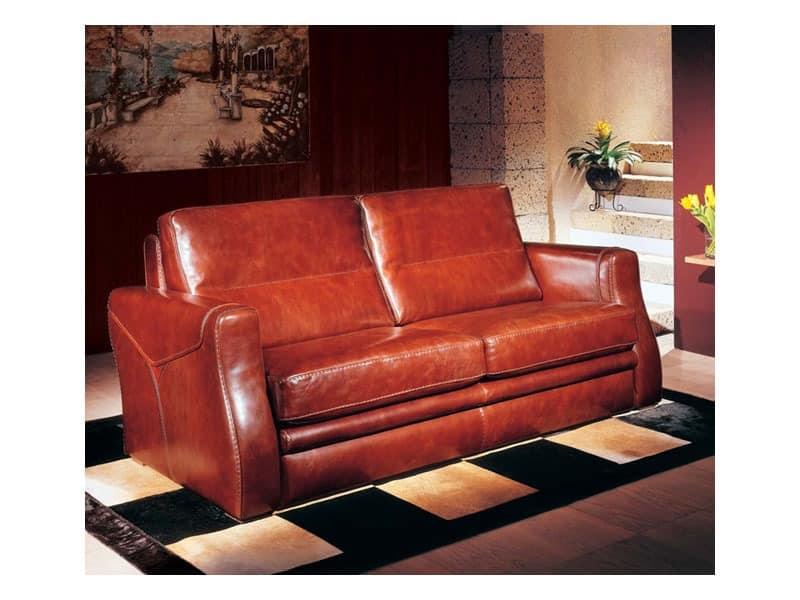 sofa mit lederbezug polsterung aus polyurethanschaum. Black Bedroom Furniture Sets. Home Design Ideas