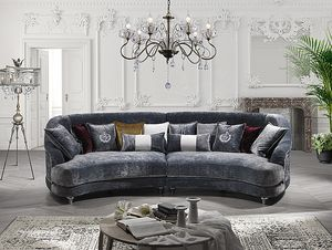 ELISIR comp.02, Zweisitziges halbkreisförmiges Sofa
