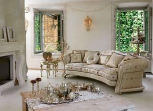 Giselle ring, Luxury klassischen Sofa, Schlangenlinie