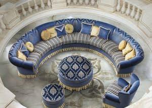 Imperial Due/B, Modulsofa für klassische Wohnzimmer