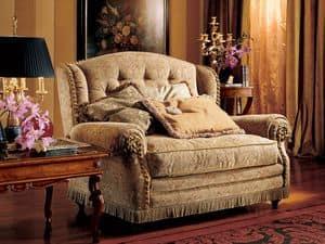 Katerina Sofa, Zweisitzer-Sofa, Luxus im klassischen Stil