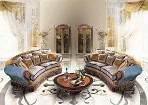 Lisa B/1663/2, Sofa Handwerkskunst, klassischen Stil