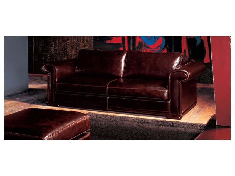 klassischen stil sofa mit g nsedaunen idfdesign. Black Bedroom Furniture Sets. Home Design Ideas