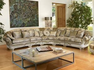 Natalia modular, Klassisches Sofas Wohnraum