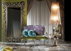 Romantic, Luxus-Sofa, handgeschnitzt