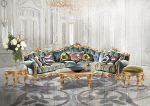 Saint Germain A/2710, Wohnzimmer Möbel, Klassisches Sofa