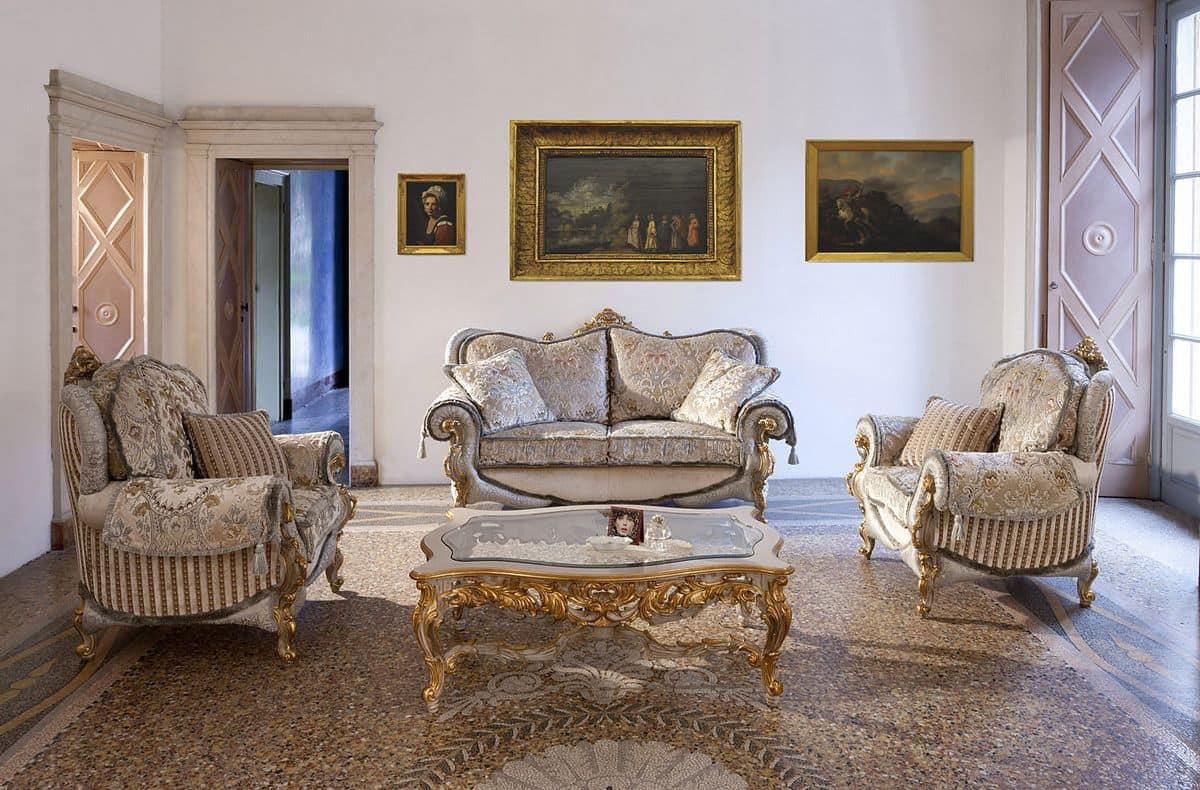 sofa und sessel f r zimmer im klassischen stil idfdesign. Black Bedroom Furniture Sets. Home Design Ideas